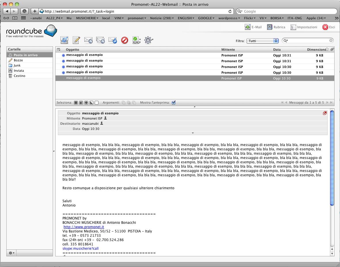 Web mail – posta web