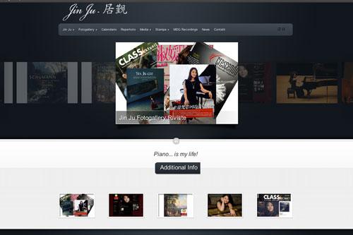 Jin Ju, pianista